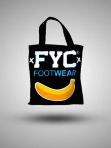 Tote Bag Kanvas FYC Footwear Hitam