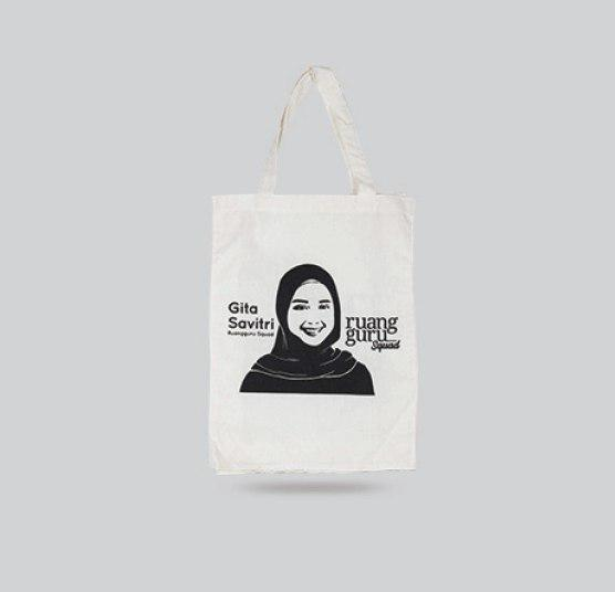 Tote Bag blacu Ruang Guru