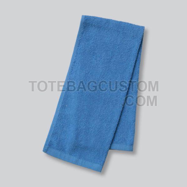 Handuk biru